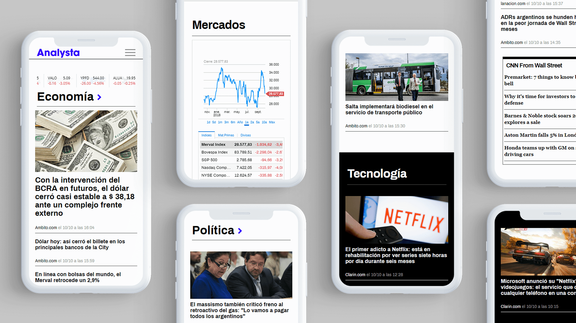 Analysta news ui
